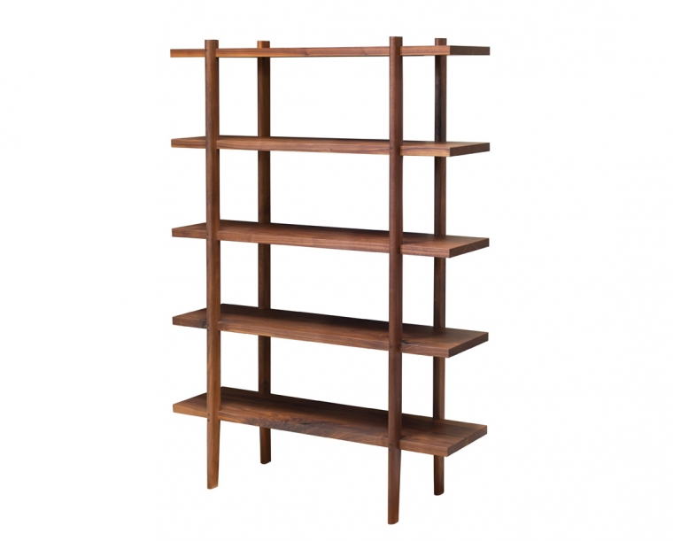 Sebastian bookcase in Eastern Walnut