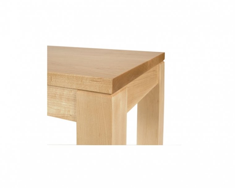 Studio Bench in Maple Detail