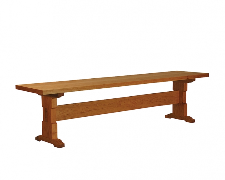 Beal Bench in Cherry