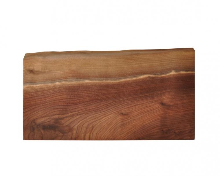 Live=Edge Breadboard from our Oregon Walnut