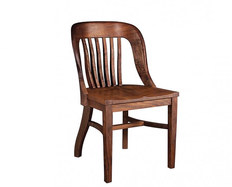 Banjo Chair in Western Walnut