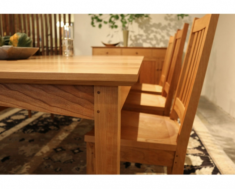 shaker dining table shaker style dining table the joinery rh thejoinery com shaker dining room buffet shaker dining room table