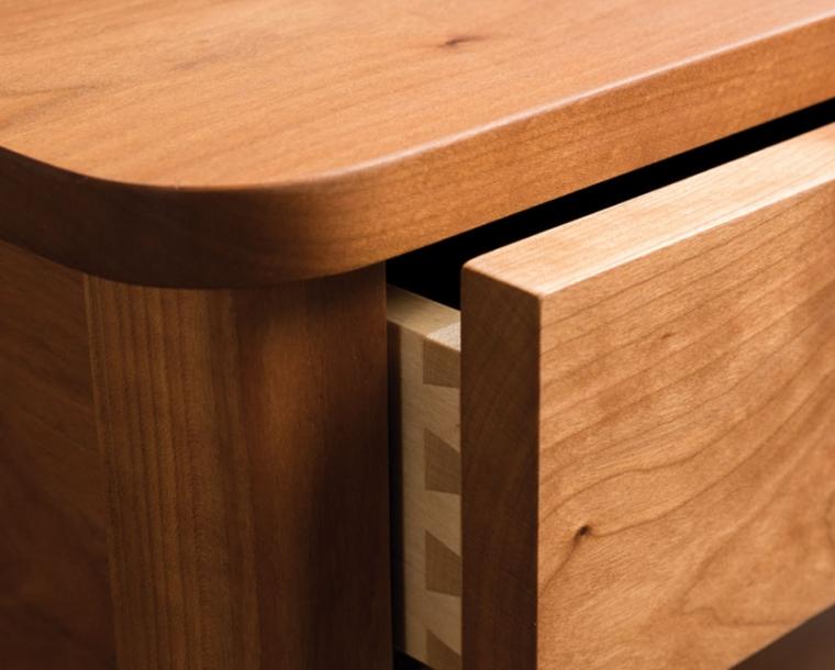 Dovetail Detail of Whitman drawer
