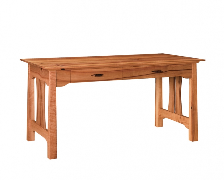 Pacific Writing Desk in Madrone with Rosewood Yoshinaga Pulls