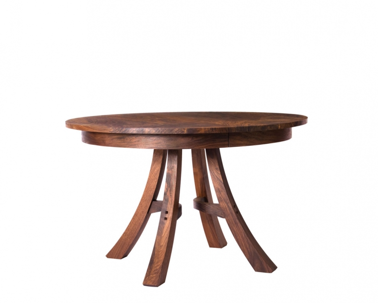 """48"""" Kyoto Dining Table in Western Walnut"""