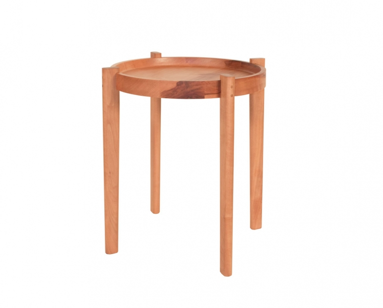 Sebastian End Table in Madrone