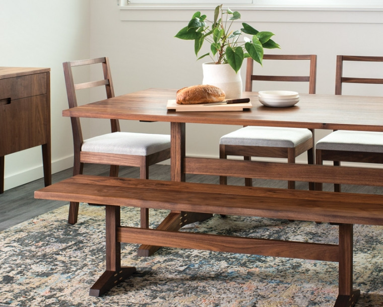 Detail of Hayden dining set
