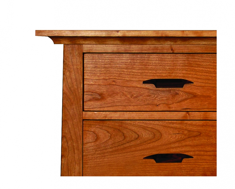 Pacific top and drawer detail