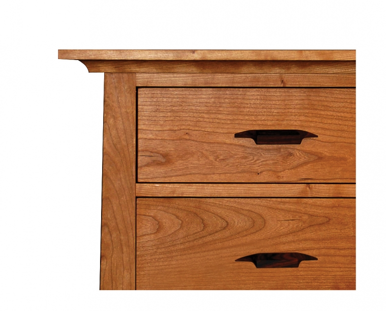 Pacific Dresser in Cherry with Yoshinaga Pulls Detail