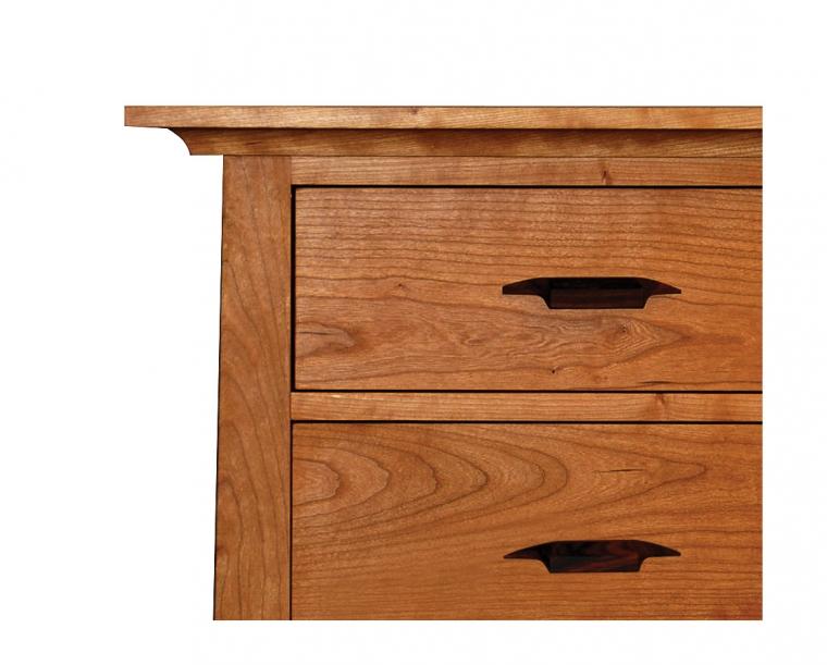 Pacific Dresser in Cherry with Yoshinaga Pulls Detail