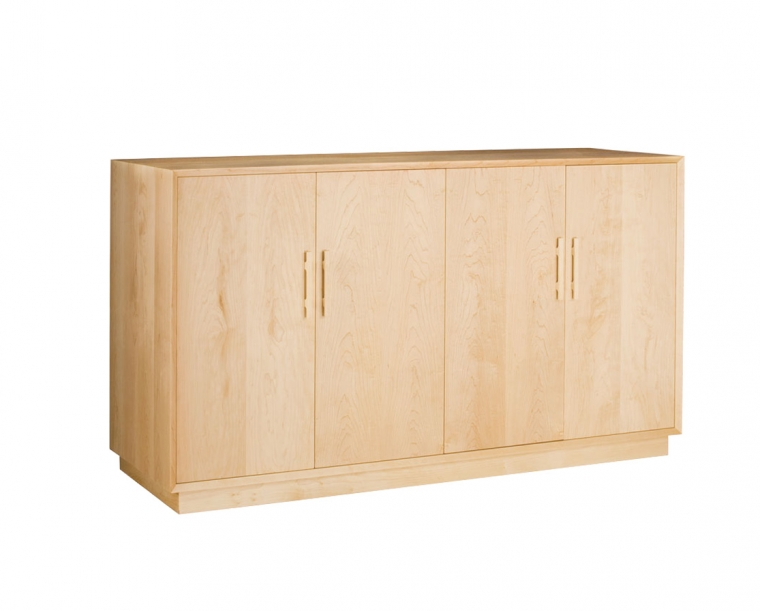 Modern Sideboard in Maple with Mission Pulls
