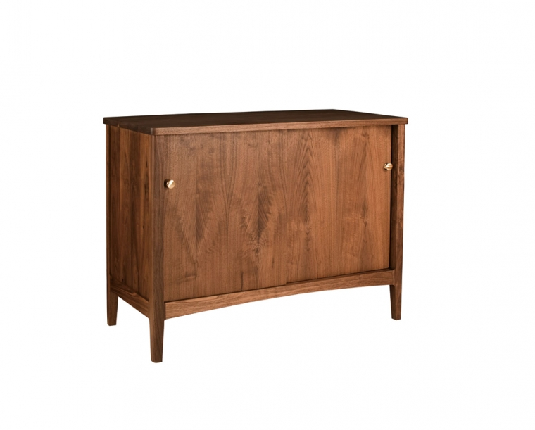 Whitman Sideboard in Eastern Walnut with COM knob