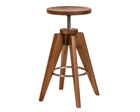 Teton Stool in Eastern Walnut