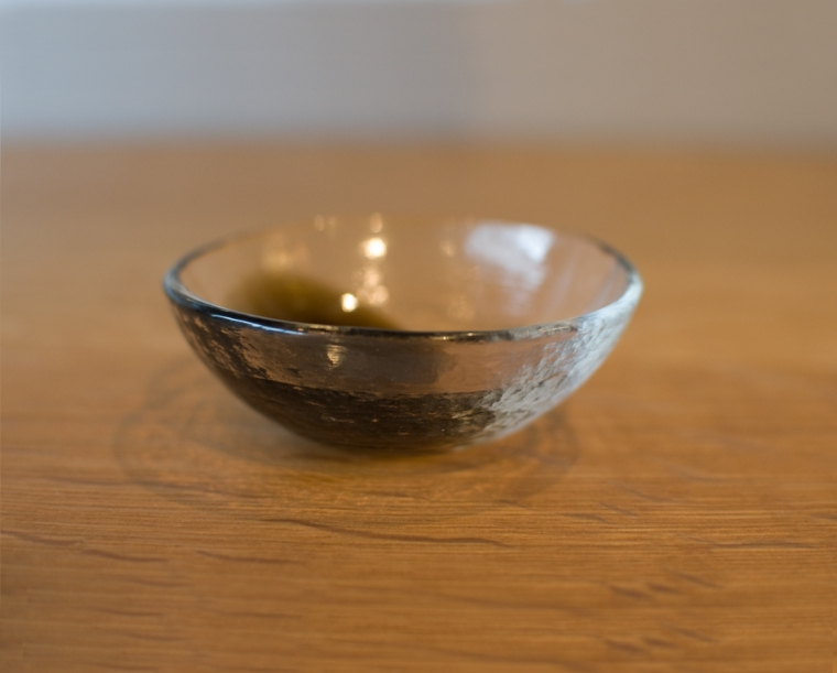 Vitreluxe Cloud Salt Bowl