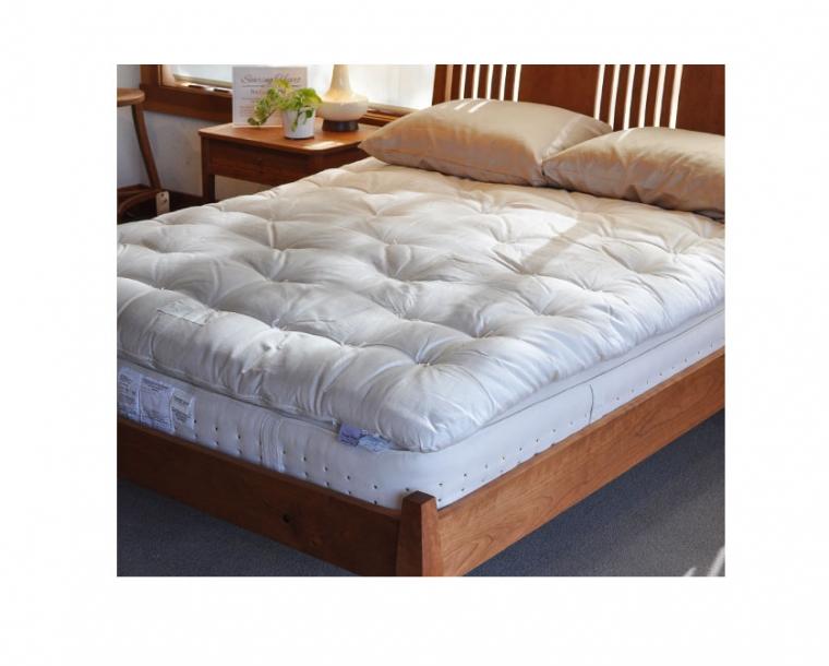 Organic Aspen Inner Spring Mattress on the Lorelei Bed