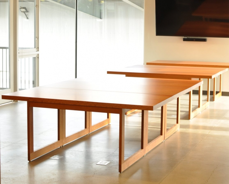 A to Z Wineworks Custom Conference Table in Cherry