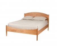 Classic Shaker Bed in Cherry by The Joinery